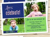 Joint Party Invitation Template Joint Birthday Party Invitation Sibling Birthday Invitation
