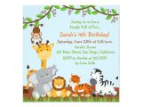 Jungle Party Invitation Template Free Jungle Invitation Templates