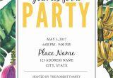 Jungle Party Invitation Template Jungle Party Birthday Invitation Template Free Personal