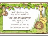 Jungle theme Baby Shower Invitation Wording Baby Shower Invitations Jungle theme – Gangcraft