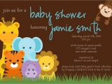 Jungle theme Baby Shower Invites Jungle theme Baby Shower Invitation