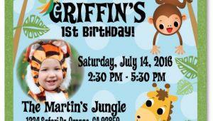Jungle theme Party Invitation Templates 17 Safari Birthday Invitations Design Templates Free