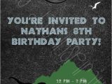 Jurassic World Party Invitation Template Items Similar to Jurassic World Dinosaur Birthday Party