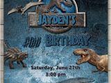 Jurassic World Party Invitation Template Jurassic World Birthday Invitation Jurassic Park
