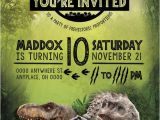 Jurassic World Party Invitation Template Jurassic World Birthday Invitation Jurassic World Party