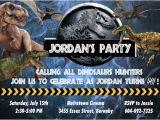 Jurassic World Party Invitation Template Jurassic World Custom Printable Birthday by 5dollarparty