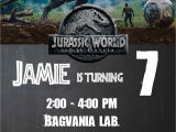 Jurassic World Party Invitation Template Jurassic World Fallen Kingdom Birthday Party Ideas