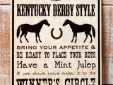 Kentucky Derby Party Invitation Ideas Beth Kruse Custom Creations Kentucky Derby Party