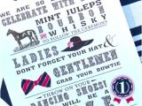 Kentucky Derby Party Invitation Ideas Kentucky Derby Party 2013 Loomisluggage