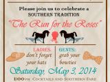 Kentucky Derby Party Invitation Ideas My Kentucky Derby Party Invitation D E R B Y