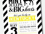 Kentucky Derby Party Invitation Template Customizable Kentucky Derby Party Invitation