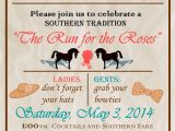 Kentucky Derby Party Invitation Template My Kentucky Derby Party Invitation In 2019 Kentucky