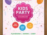 Kid Party Invitation Template 17 Free Birthday Invitation Templates Psd Designyep