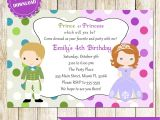 Kid Party Invitation Template Childrens Birthday Party Invites toddler Birthday Party