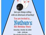 Kids Bowling Birthday Party Invitations Bowling Invitation Template Cliparts