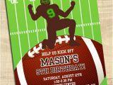 Kids Football Party Invitations Football Birthday Party Invitations Football Sports