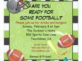 Kids Football Party Invitations Football Party Invitation for Adults or Kids Zazzle