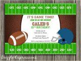 Kids Football Party Invitations Free Printable Football Birthday Invitations Dolanpedia