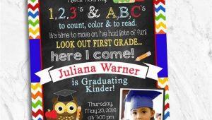 Kindergarten Graduation Party Invitations 19 Best Images About Big Girl School Stuff On Pinterest