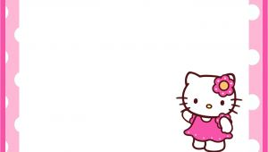 Kitty Party Invitation Template Free Hello Kitty Birthday Invitation Template Invitations Online