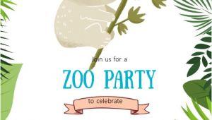 Koala Birthday Invitation Template Koala Birthday Party Invitation Template Postermywall