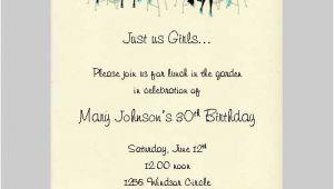 Ladies Only Party Invitation Wording Ladies Party Invitation Wording Safero Adways