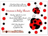 Ladybug Baby Shower Invitations Cheap Cheap Ladybug Baby Shower Invitations Ladybug Baby Shower