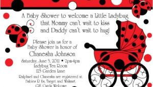 Ladybug themed Baby Shower Invitations How to Set Up Ladybug themes In Baby Shower