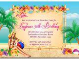 Lake Party Invitation Templates Free Tips Luau Invitations Luau Invitation Template Lake