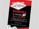 Las Vegas themed Birthday Invitations Adult Las Vegas Invitation Vegas Party Pinterest