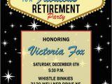 Las Vegas themed Birthday Invitations Las Vegas Retirement Invitation • Casino theme by