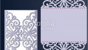 Laser Cut Wedding Invitation Card Template Vector Free Cool Free Laser Cut Invitation Templates Pictures