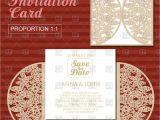Laser Cut Wedding Invitation Templates Die Laser Cut Wedding Card Template Wedding Invitation