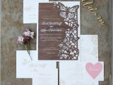 Laser Cut Wedding Invitations Nyc Invitations More Photos Laser Cut Wood butterfly