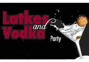 Latke Party Invitation Vodka Latkes Chanukah Party Miyad