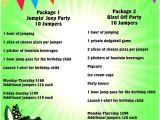 Launch Trampoline Park Birthday Invitations Hands Down the Best Place to Have A Birthday Party In