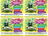 Launch Trampoline Park Birthday Invitations Printable Invites