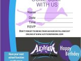 Launch Trampoline Park Birthday Invitations Trampoline Birthday Parties at Altitude Altitude