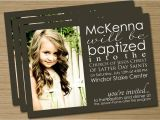 Lds Baptism Invitation Wording Lds Baptism Announcement Invitation