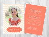 Lds Baptism Invitation Wording Lds Baptism Invitation Two Sided 5×7 Custom by E