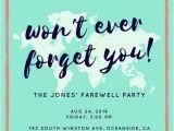 Leaving Party Invitation Customize 3 999 Farewell Party Invitation Templates