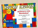 Lego Birthday Party Invitation Free Template Lego Birthday Invitation Templates Printables Ideas