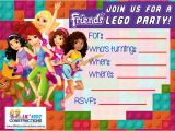 Lego Friends Party Invitations Lego Friends Party Invitations Cimvitation