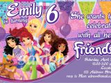 Lego Friends Party Invitations Lego Friends Party Invitations Oxsvitation Com