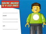 Lego Party Invitation Template Free Free Printable Lego Birthday Invitation Template Free