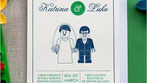 Lego Wedding Invitation Template Lego themed Wedding Ideas Bridalguide