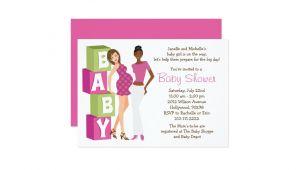 Lesbian Baby Shower Invitations Lesbian Baby Shower Invitation for Girl