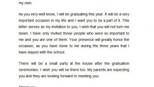 Letter Of Graduation Invitation 50 Microsoft Invitation Templates Free Samples