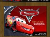 Lightning Mcqueen Party Invites Disney Cars Lightning Mc Queen Printable Birthday