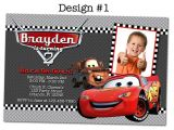 Lightning Mcqueen Party Invites Lightning Mcqueen Birthday Party Ideas Disney Pixar Cars